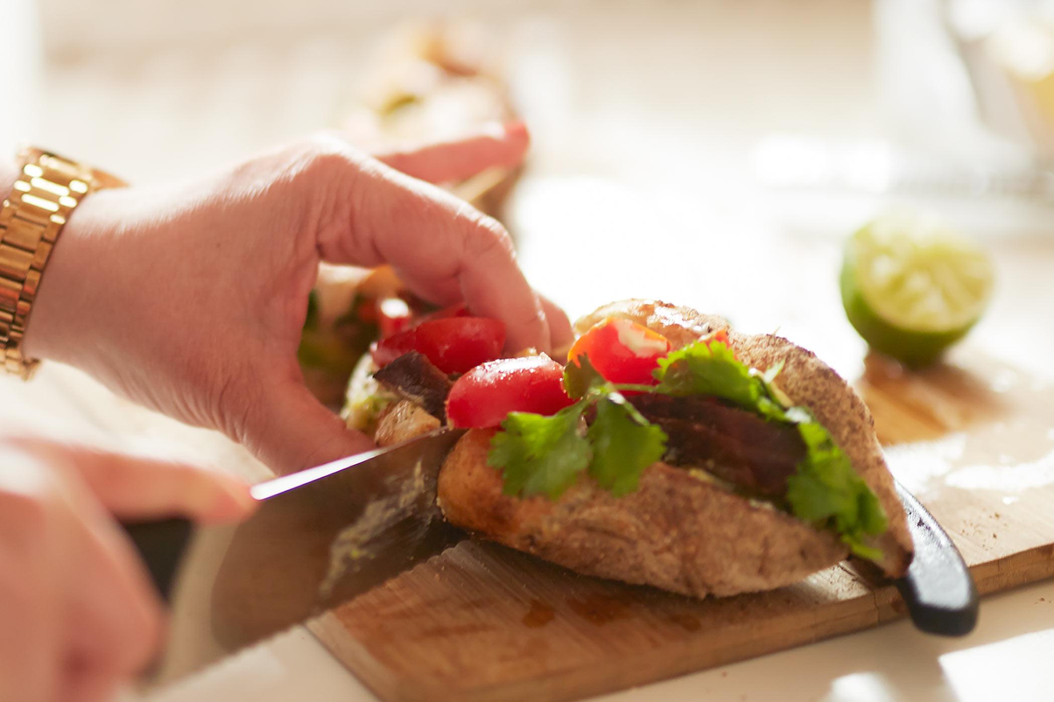 Dela smörgås